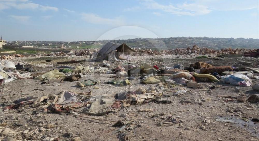 Российская авиация разбомбила лагерь беженцев в сирийском Идлибе - СМИ