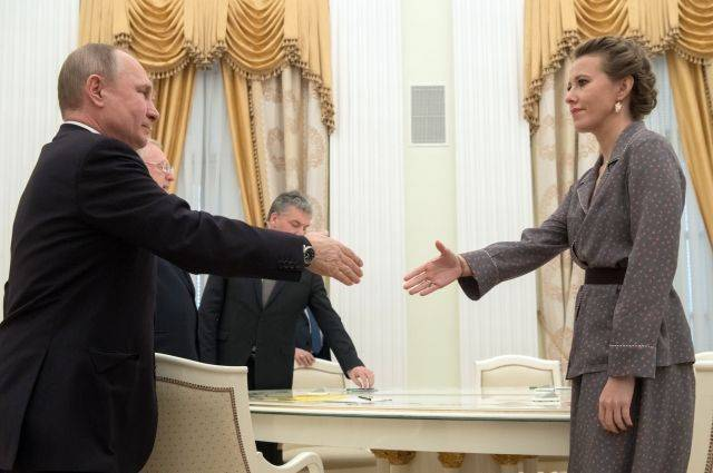 Администрация Путина проработает прошение Собчак о помиловании 16 человек