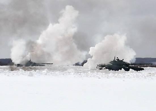 Внезапная проверка боеготовности войск прошла в двух военных округах