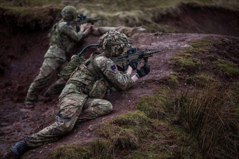 Британская армия начала замену стрелкового вооружения