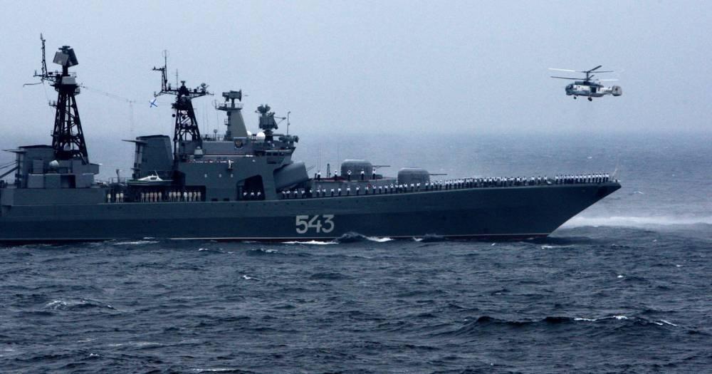 """Корабль ТОФ """"Маршал Шапошников"""" оснастят ударным ракетным оружием"""