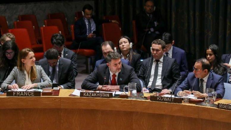 """""""Воздержание"""" Казахстана в Совбезе ООН. Это по-партнёрски..."""