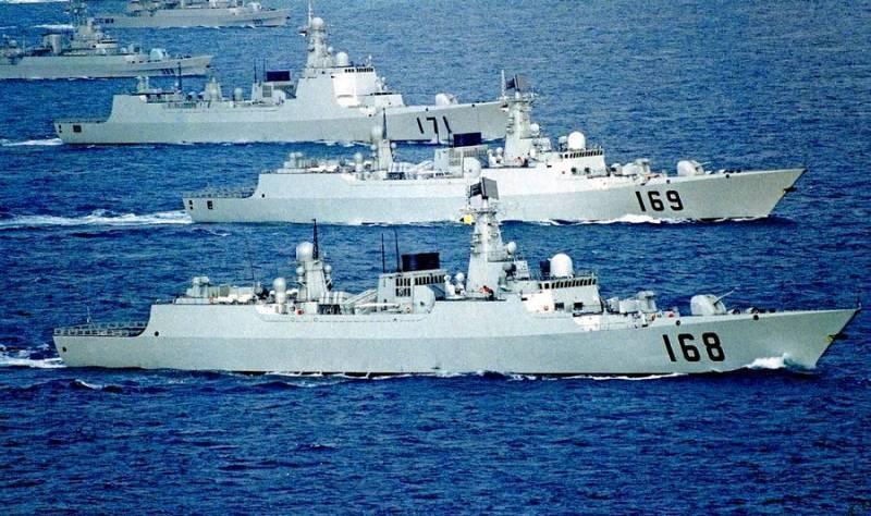 Китай показал «второй флот в мире»