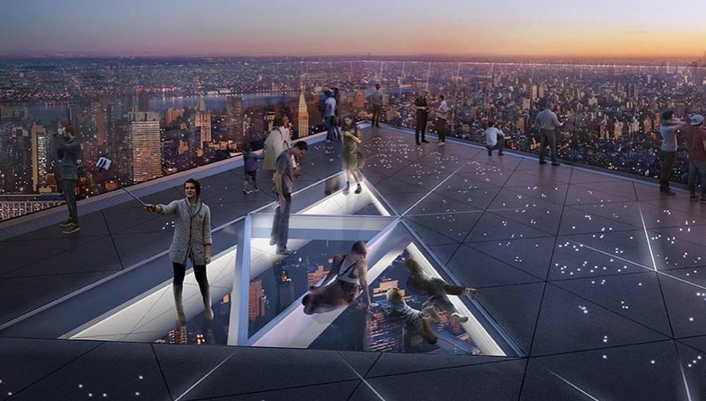 В Нью-Йорке откроется самая высокая смотровая площадка в Западном полушарии