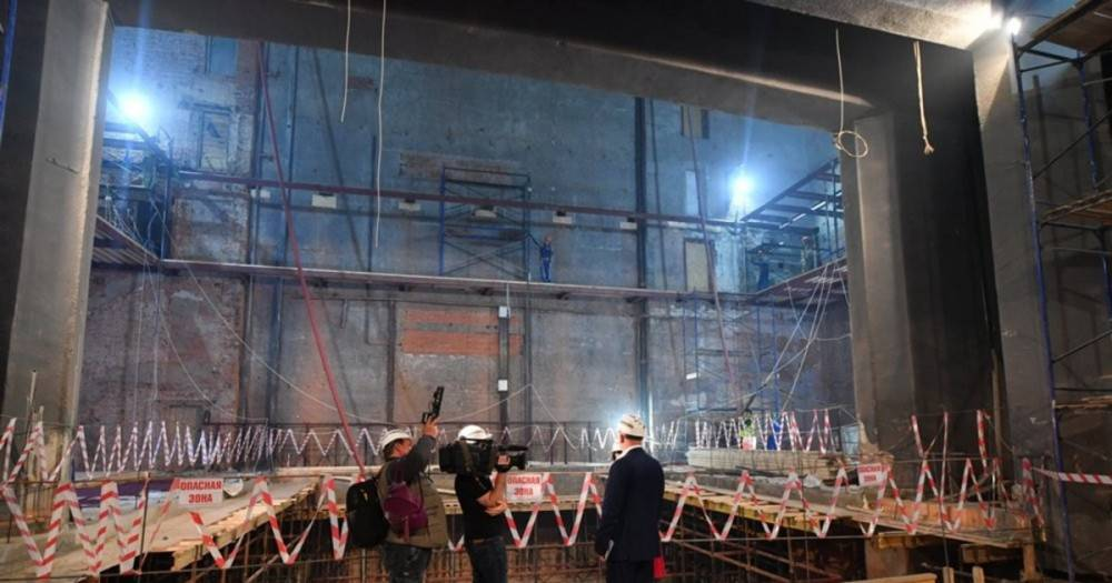 """Отремонтированный театр """"Современник"""" на Чистых Прудах откроет двери в сентябре"""
