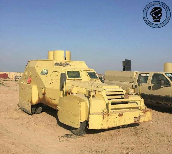 «Новая жизнь» советского БТР-152 в Ираке