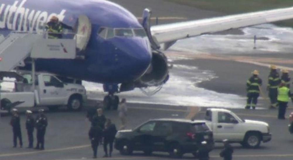 В США взорвался двигатель пассажирского самолета: есть пострадавшие