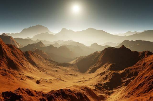 В РФ выберут место посадки российско-европейской миссии на Марс
