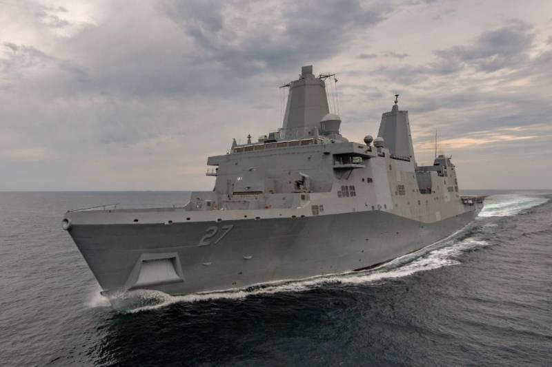 ВМС США получили очередной десантный корабль