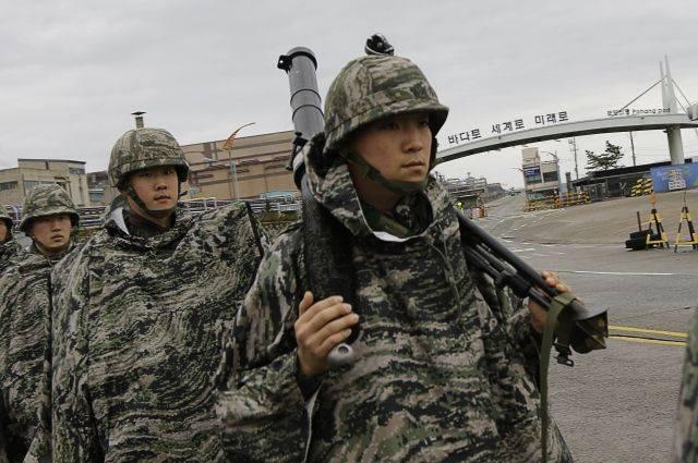 Южная Корея и США приступили к военным учениям Key Resolve