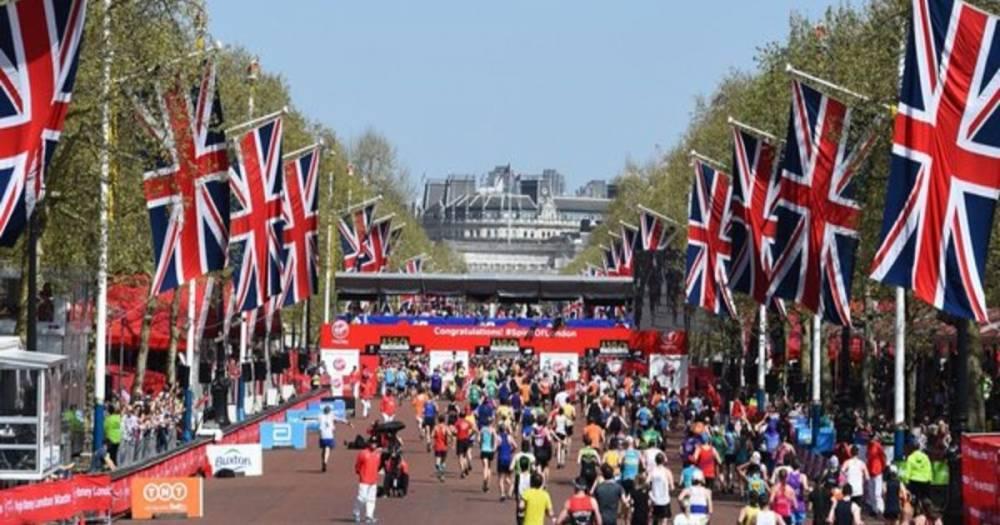 В столице прошел самый жаркий Лондонский марафон за всю его историю