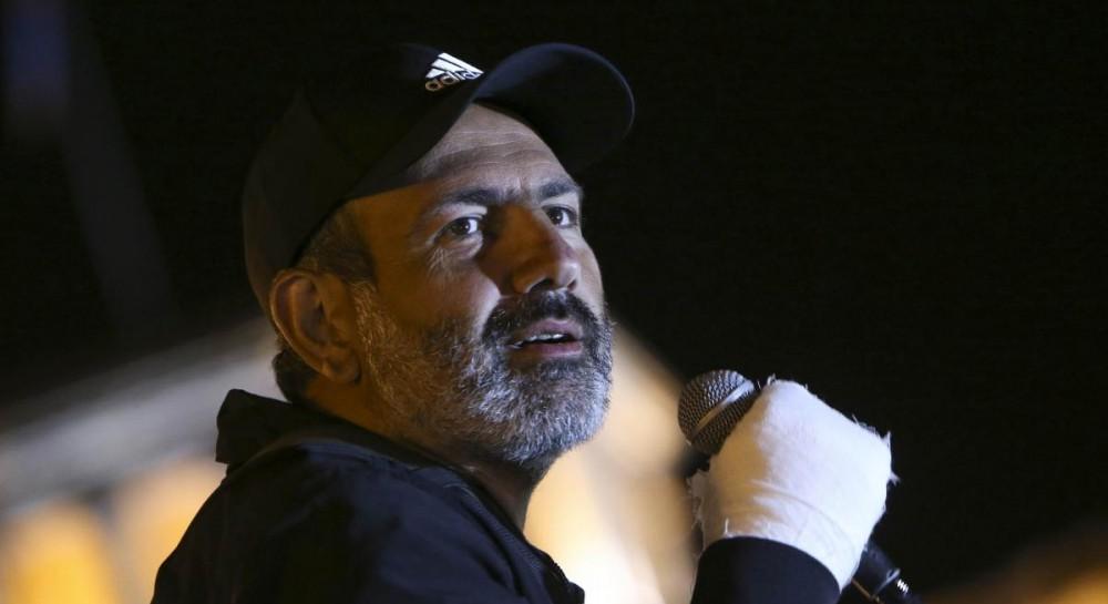 Лидера протестов в Армении Пашиняна выпустили на свободу