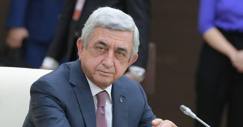 Премьер Армении Серж Саргсян подал в отставку на фоне акций протеста