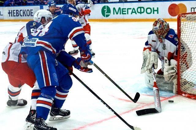 ЦСКА обыграл СКА в пятом матче полуфинальной серии плей-офф КХЛ