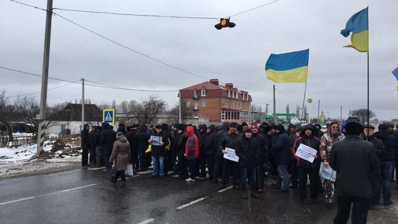 «Нас обманула постмайданная власть»: военные пенсионеры устроили протест в центре Киева