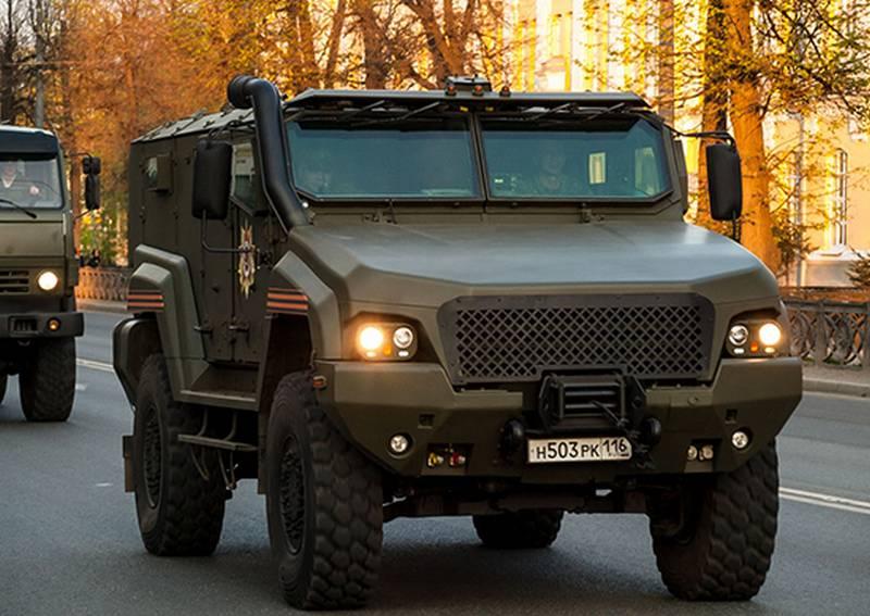 Тайфуненок для спецназа. В ЮВО поступил новейший бронеавтомобиль КамАЗ 53949