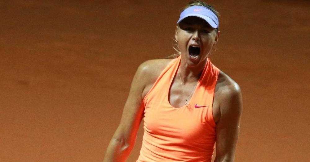 Определилась соперница Марии Шараповой на турнире в Риме