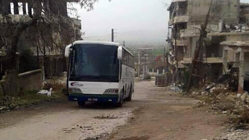Сирия: террористы ИГ покидают последний «котел» в провинции Дамаск