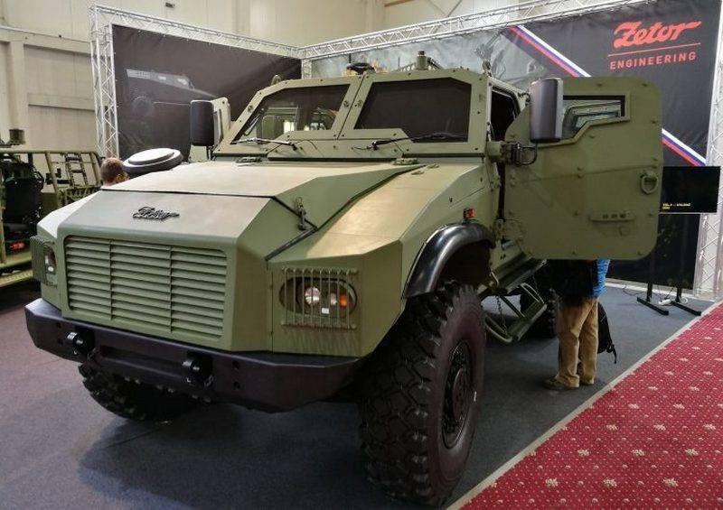 Новая бронемашина для словацкой армии. Чехи представили Gerlach 4х4