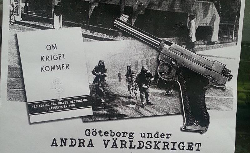 """Спустя 57 лет. В Швеции решили снова раздать брошюру """"Если придет война"""""""