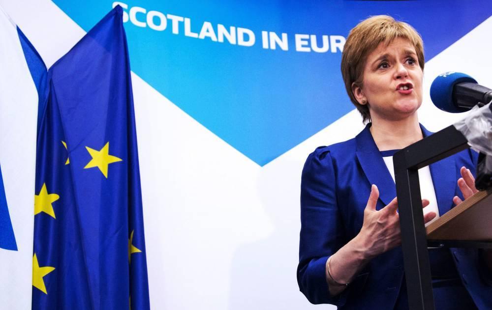 Шотландия вернется к референдуму об отделении от Британии