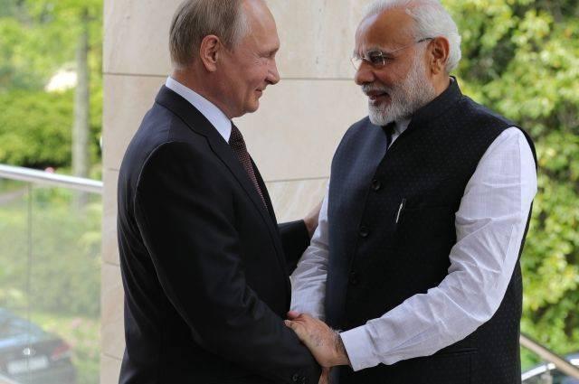 Лавров рассказал, о чем договорились Путин и Моди