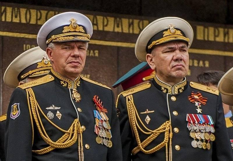 На Черноморском флоте новый командующий. Пока с приставкой и.о.