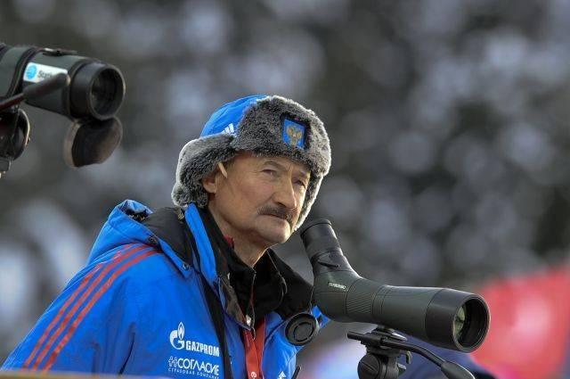 Главным тренером сборной России по биатлону стал Анатолий Хованцев
