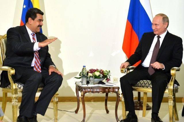 Мадуро поблагодарил Путина за признание результатов выборов в Венесуэле