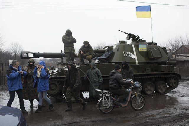 Источник: украинские силовики собираются «затянуть петлю» вокруг Донецка