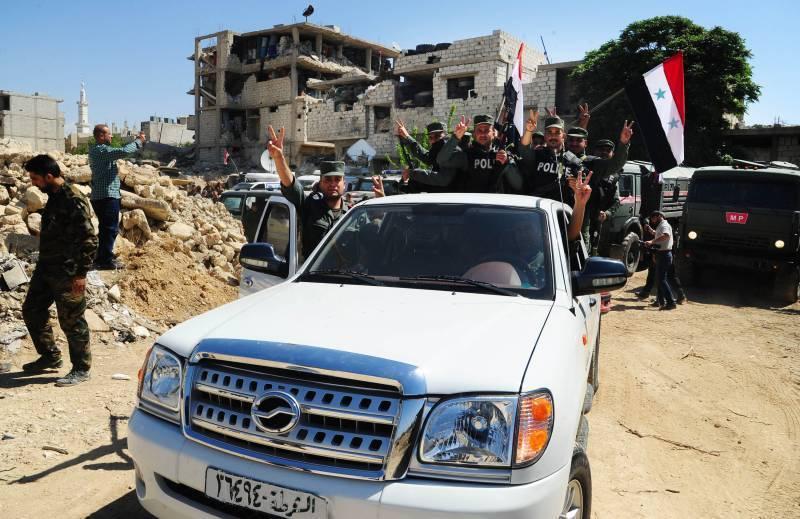 Ситуация в Сирии. Американцы понесли потери в Хасаке