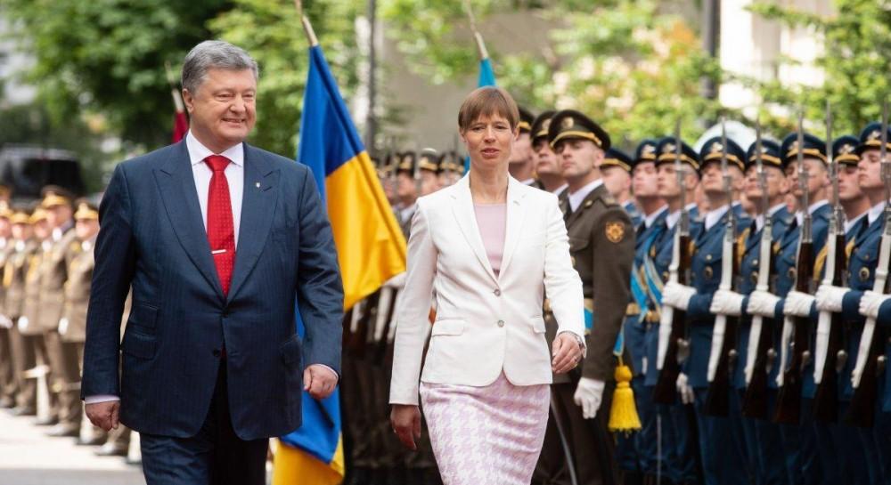 Президент Эстонии станет первым лидером иностранного государства, который посетит Донбасс