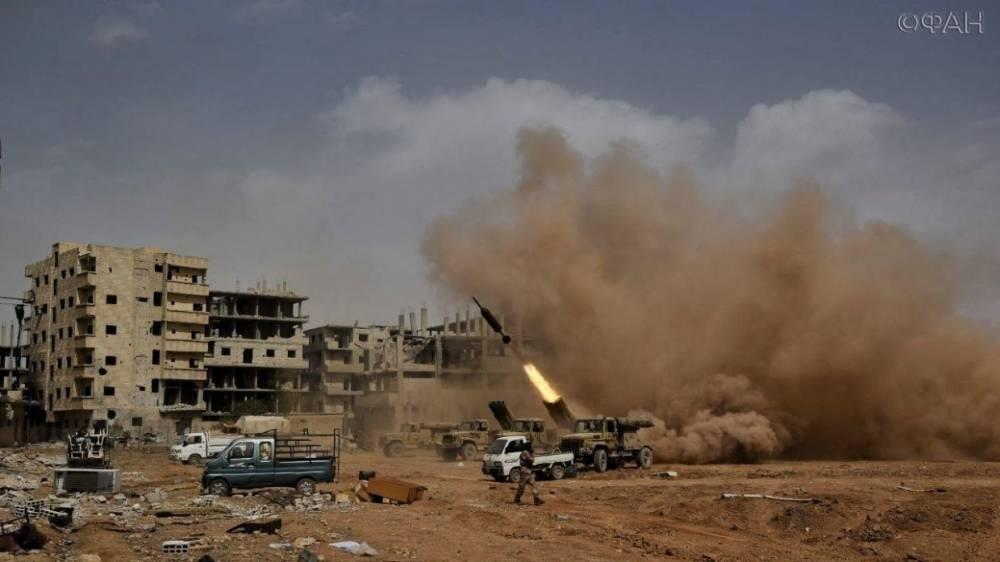 Сирия: появилось видео освобождения лагеря палестинских беженцев «Мухайям аль-Ярмук» в южном Дамаске
