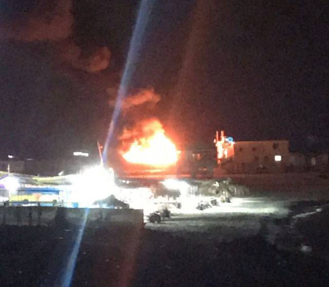 Ракетный удар по морскому порту Газы. Ответ на попытку прорыва границы