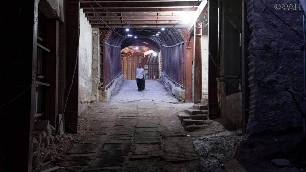 Сирия: САА обнаружила сеть туннелей ИГ на южных окраинах Дамаска