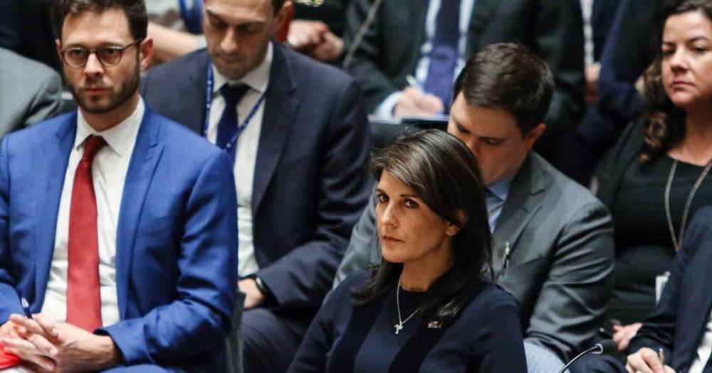 "Студенты Хьюстона освистали постпреда США при ООН Хейли за ""потакание геноциду"""