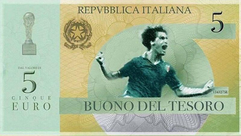 Итальянцы решили напомнить о немецких неудачах с помощью новой банкноты