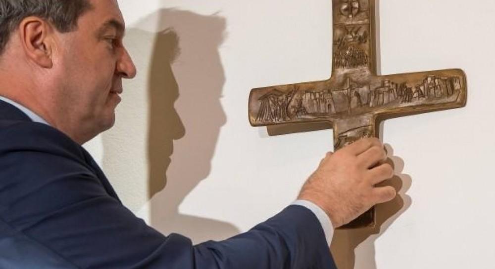 В Баварии вступило в силу разрешение на установку распятий на входе во все госучреждения