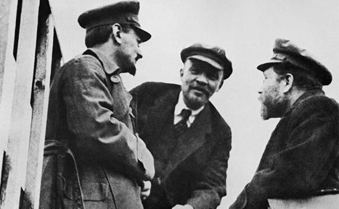 Запад помог большевикам?