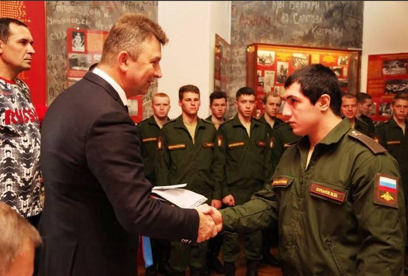 В Самаре наградили военнослужащих спортивной роты ЦВО