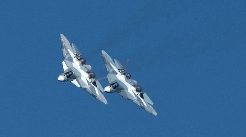 Россия испытала новые ракеты с истребителя Су-57 в Сирии, заявили в МО РФ