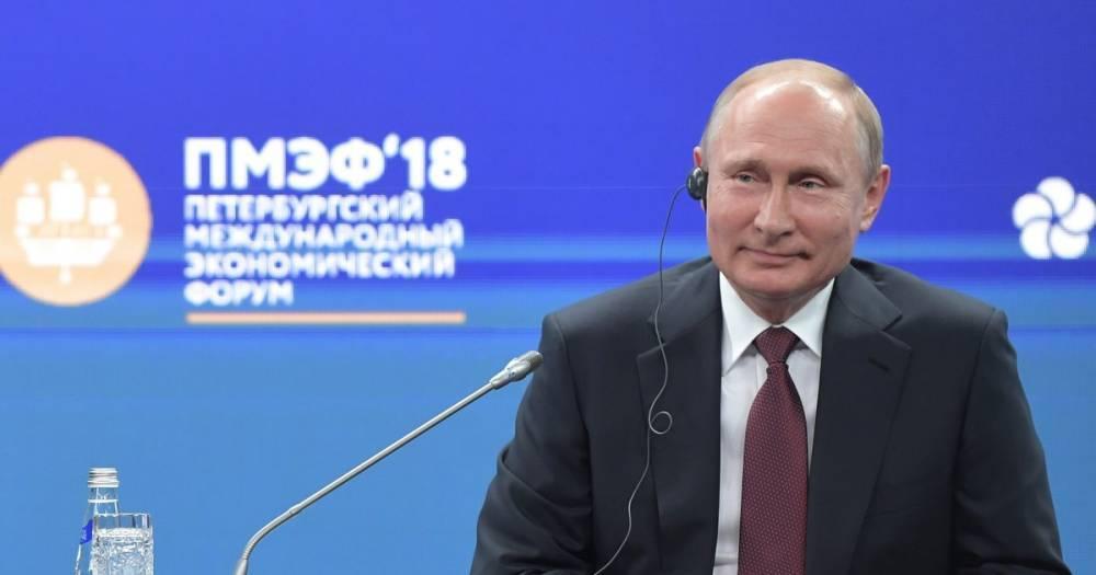 Путин рассказал, кого видит победителем ЧМ-2018 по футболу в России