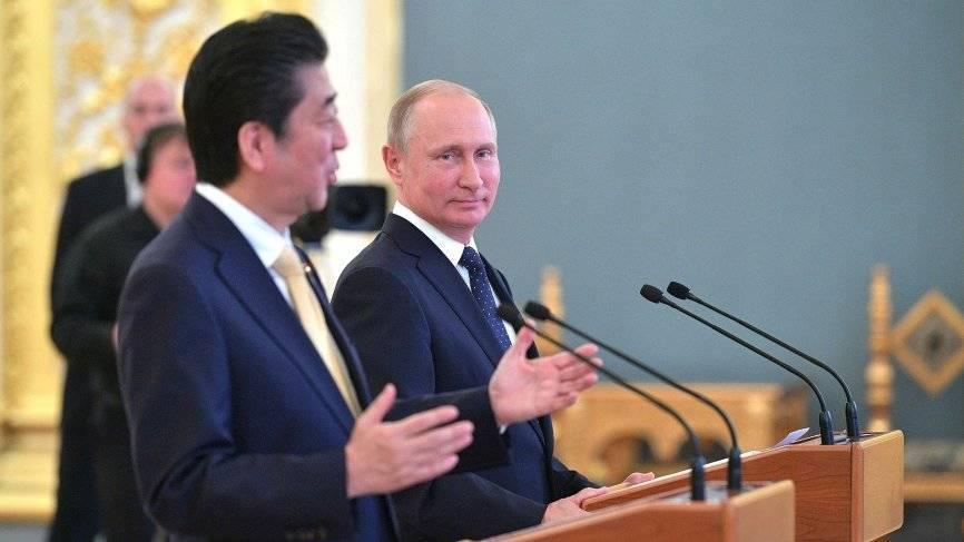 Премьер-министр Японии рассказал, когда надеется заключить мирный договор с РФ