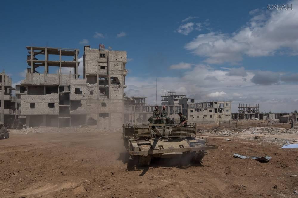 Сирия: САА начала использовать захваченный турецкий военный автомобиль в Алеппо