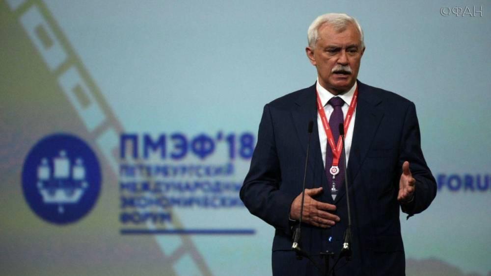 Полтавченко назвал сроки строительства нового речного порта