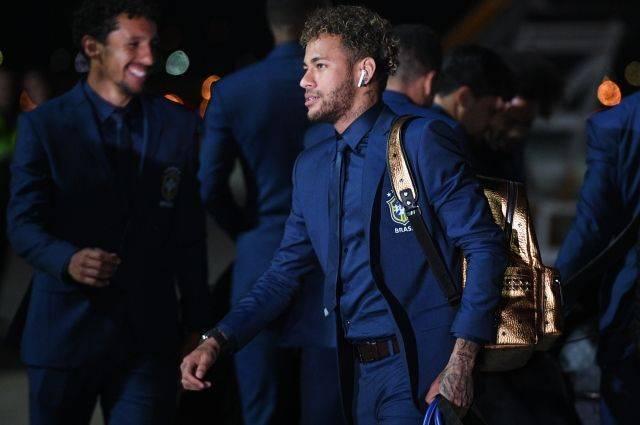 Бразильская сборная прибыла в Россию на ЧМ-2018
