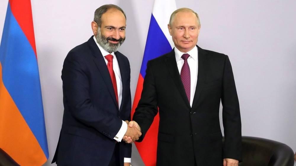 Пашинян назвал встречу с Путиным очень эффективной