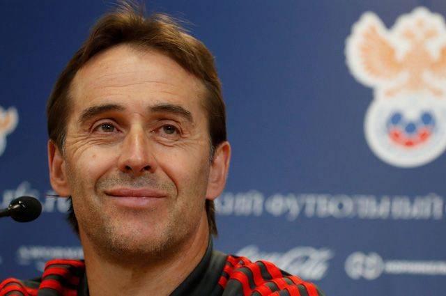 «Реал» представил Хулена Лопетеги в качестве главного тренера