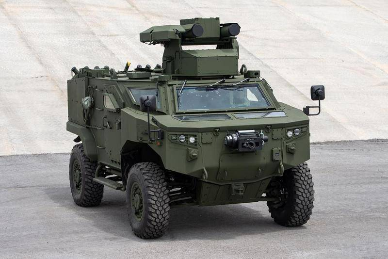 Турция представила самоходный ПТРК Pars 4x4