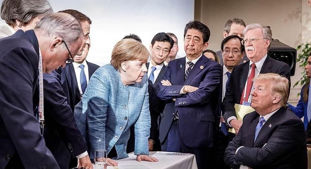 Трамп прокомментировал ставшую мемом фотографию с саммита G7